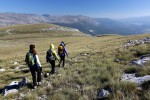 Via Dinarica team on the slopes of Dinara