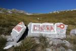 Dinara trail signs